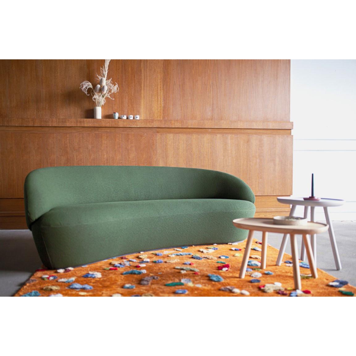 3-Sitzer Sofa Naïve | Schwarz