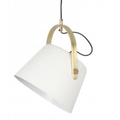 Jane Metal Pendant Lamp   Matte White
