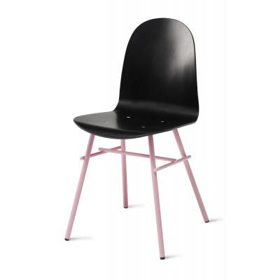 Nam Nam Chair Furnier   Schwarz & Pink