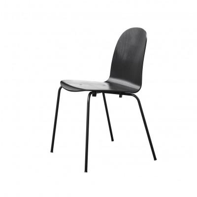 Nam Nam Contract Chair   Schwarz Ungepolstert