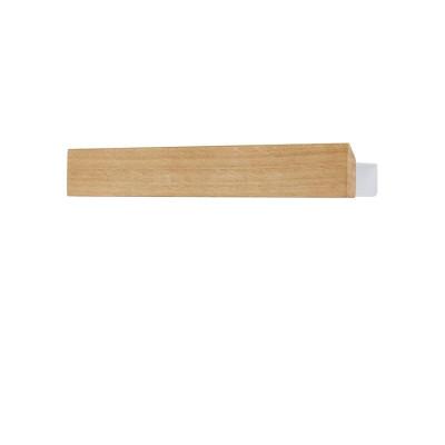 Magnetregal Flex 40 cm   Eichenweiß