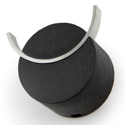 Wall Hook Deer   Black & Stainless Steel