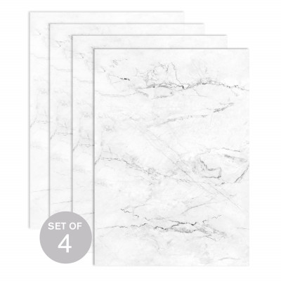 White Marble (Set of 4)