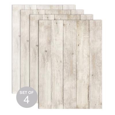 Wood (Set of 4)