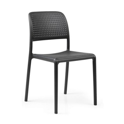 Stapelbarer Stuhl Bora Bistrot | Anthrazit