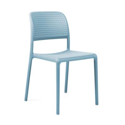 Stapelbarer Stuhl Bora Bistrot | Hellblau