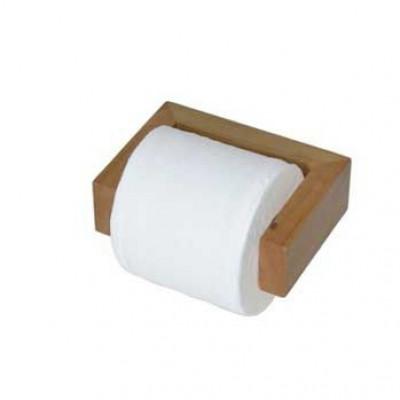 Toilettenrollenhalter Wand Slimline | Helles Holz
