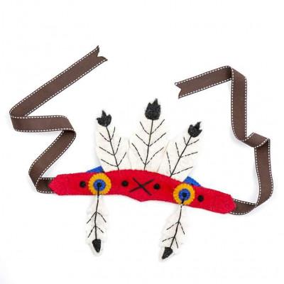 Federkopfkleid der amerikanischen Ureinwohner