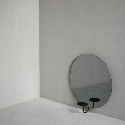 Miró Miró Spiegel   Rund   Grey Mist