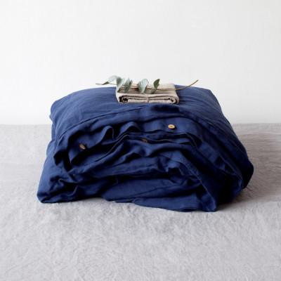 Bettdeckenbezug   Marineblau