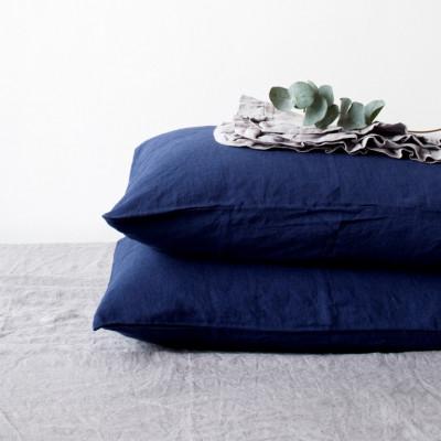 Kissenbezug   Marineblau