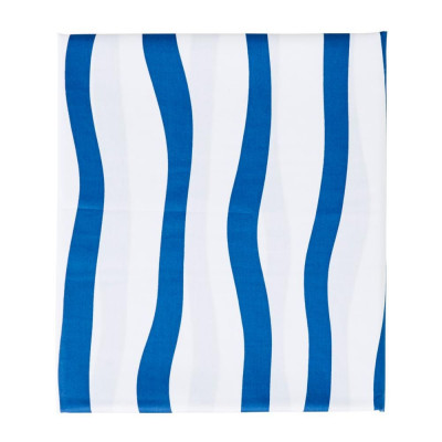 Fitted Sheet Cot | Navy Stripes