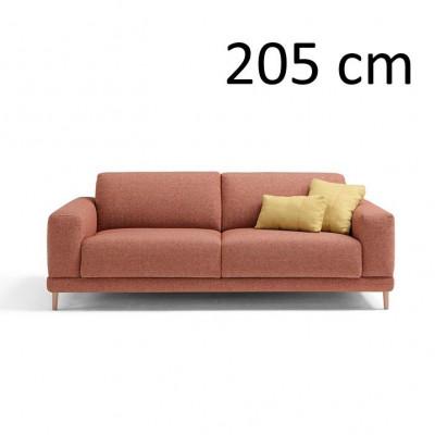 Sleeping Sofa Naxos L 205 cm | Red