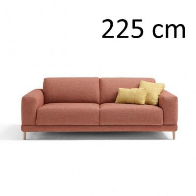 Sleeping Sofa Naxos L 225 cm | Red