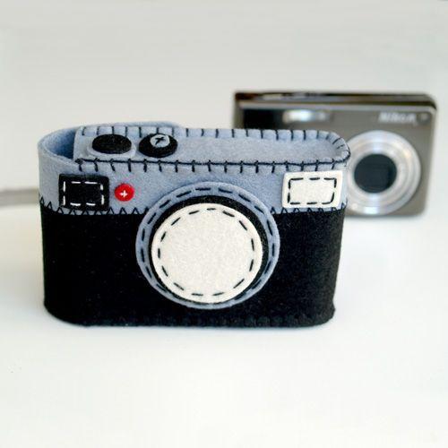 Camera Case Holder Blue
