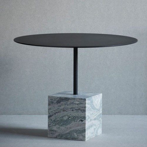 Knock Out Table Square | Green Marble