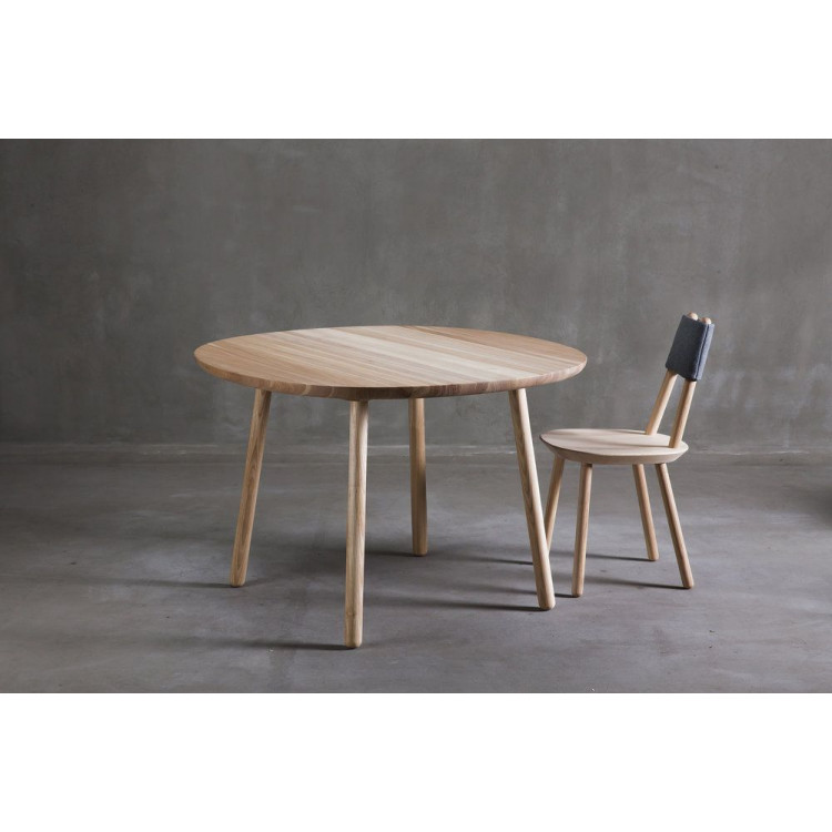 Naive Dining Table | Black Legs-S