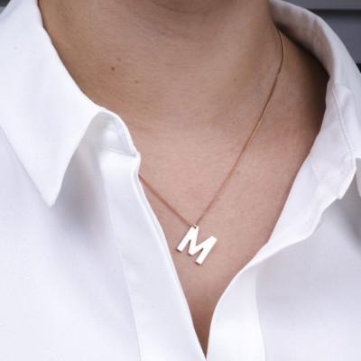 Necklace Alphabet Short | Silver
