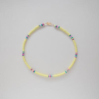 Halskette Jujie   Yellow