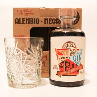 Urbaner Pe-mixed Craft-Cocktail 500 ml   Negroni & Tumbler Glas