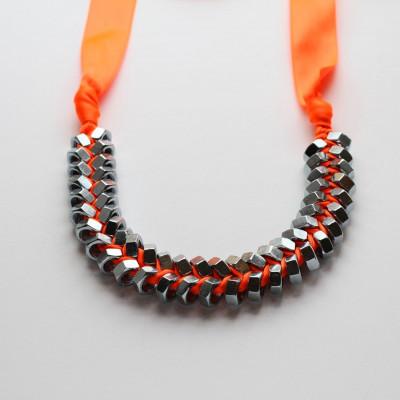 Necklace Neon Orange