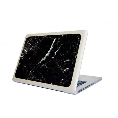 Marble MacBook Cover | Nero Marquina