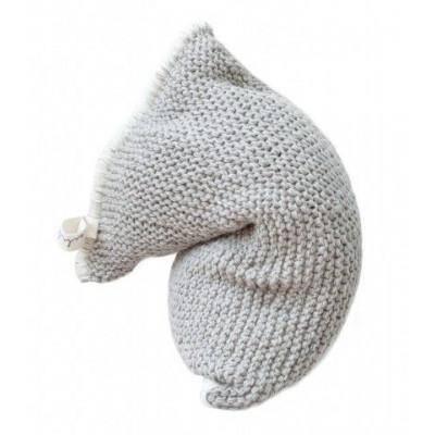 Knitted Bean Bag Nest | Light Grey