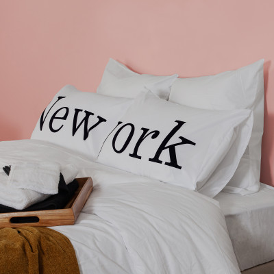 2er-Set Kissenbezüge   New York