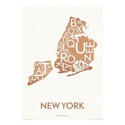New York Poster | Kupfer