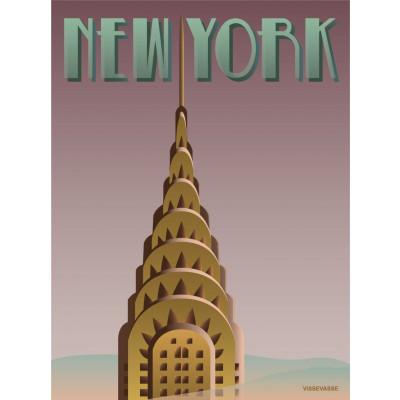 New York Poster   Chrysler