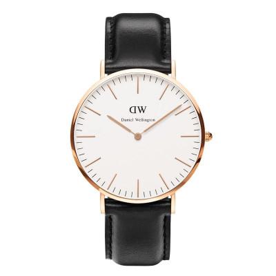 Klassische Sheffield-Uhr | Rose Gold