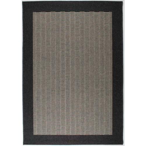 Teppich Tunis   Dunkelgrau-133 x 195 cm