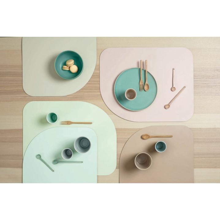 Tischset Neo Pastel 4er-Set | Mint