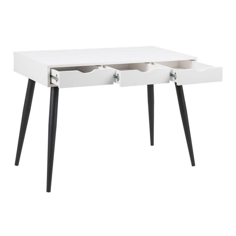 Schreibtisch Saturn | Weiß & Schwarz