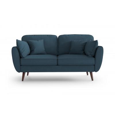 2 Sitzer Sofa Auteuil | Petrolblau