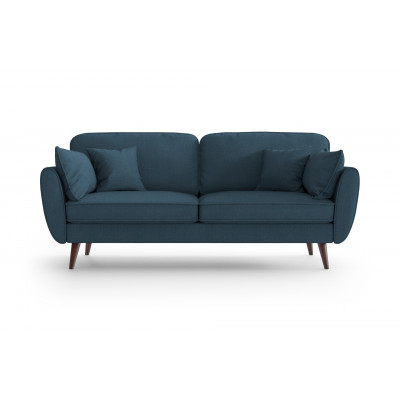 3 Sitzer Sofa Auteuil | Petrolblau