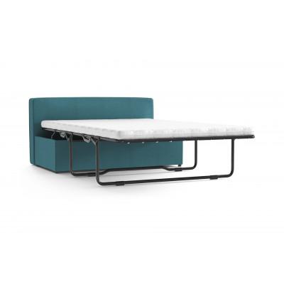 Convertible Bench BRADY 130 Uni Velvet | Turquoise