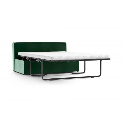Umbaubare Bänke BRADY 130 Uni Sammt | Smaragdgrün