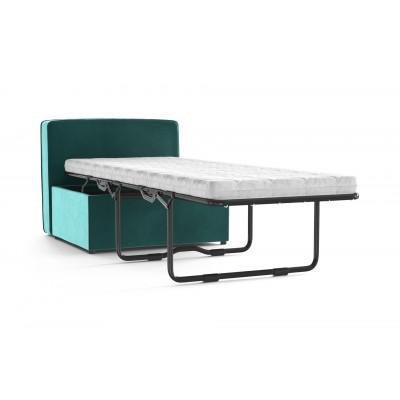 Convertible Bench BRADY 80 Uni Velvet | Turquoise