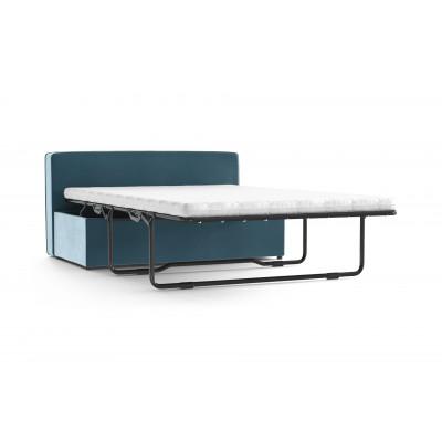 Convertible Bench BRADY 130 Uni Velvet | Sky Blue