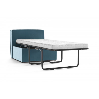Convertible Bench BRADY 80 Uni Velvet | Sky Blue