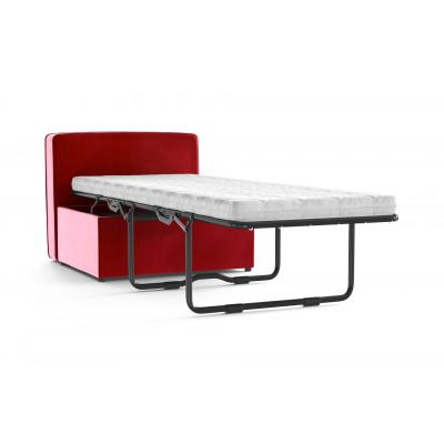 Convertible Bench BRADY 80 Uni Velvet | Red