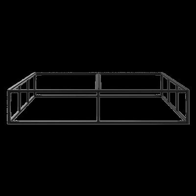 Bettrahmen 160 x 200 cm | Schwarz
