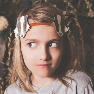 Badger Headdress