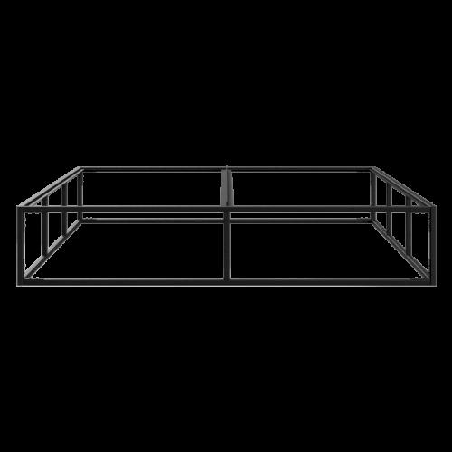 Bettrahmen 180 x 200 cm | Schwarz