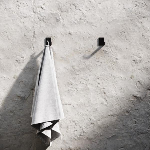 Set of 2 Bath Hooks | Black