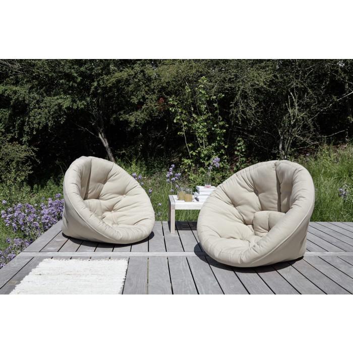 1-Seater Sofa Nido OUT   White