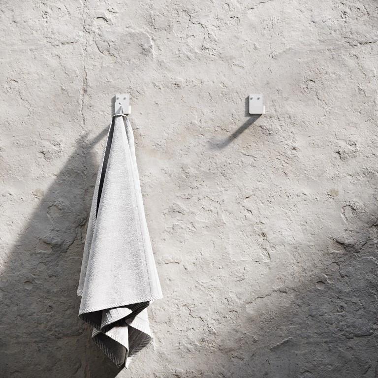 Set of 2 Bath Hooks | White