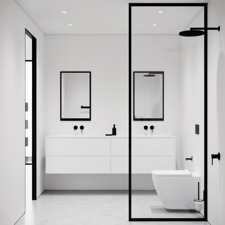 Spiegel Klein 79 x 49 cm | Schwarz