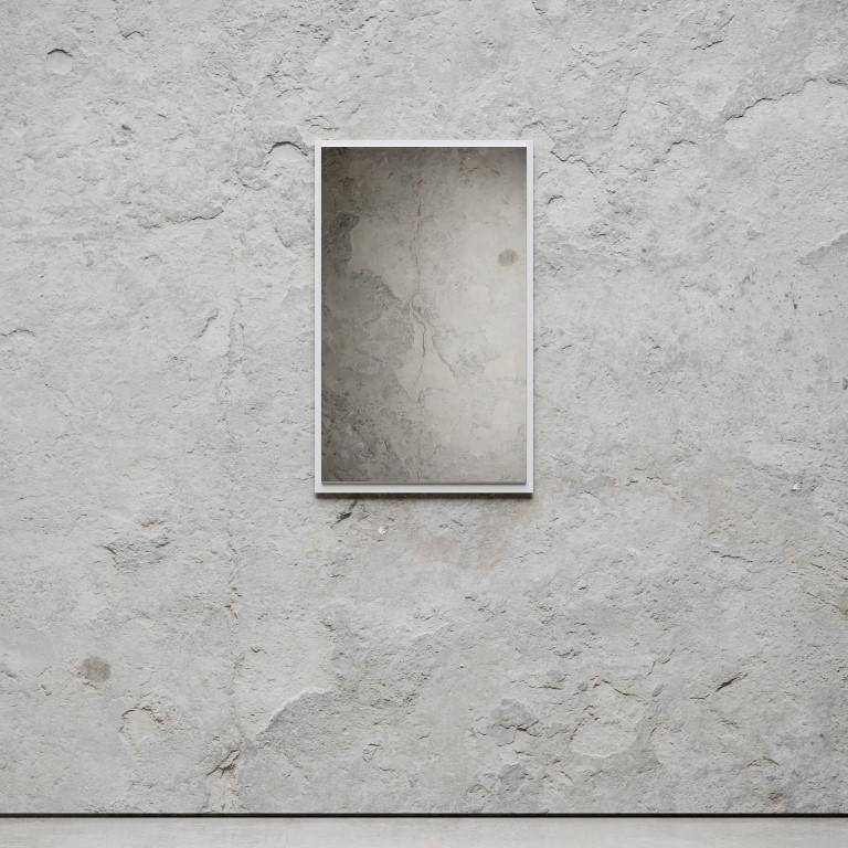 Mirror Small 79 x 49 cm   White
